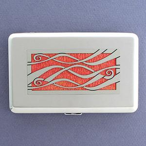 Decorative Ribbons Credit Card Case or Cigarette Case