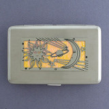 Celestial Sun & Moon Credit Card Wallets or Cigarette Cases
