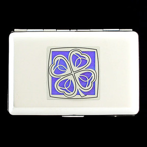 Four Leaf Clover Wallet Cigarette Case