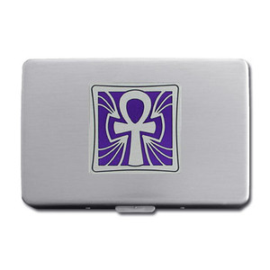 Ankh Metal Wallets - Cigarette Cases