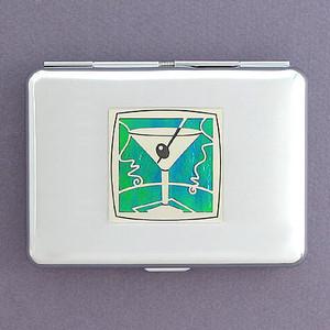 Martini Credit Card Wallet Cigarette Cases