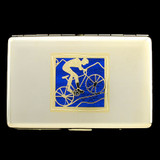 Cyclist Credit Card Wallets or Cigarette Cases