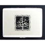 Silver Tree of Life Metal Wallet