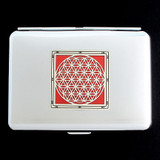 Flower of Life Credit Card Wallet Cigarette Cases