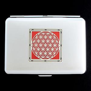 Flower of Life Credit Card Wallet Cigarette Cases