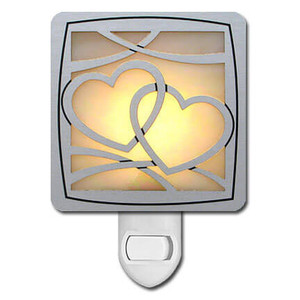 Hearts Night Light