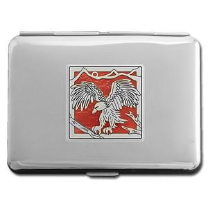 Eagle Metal Credit Card Wallet or Cigarette Case