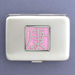 Asian Symbol for Health Credit Card Wallets