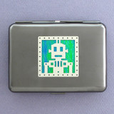 Robot Metal Credit Card Wallets or Cigarette Cases