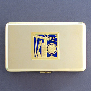 Education Metal Case or Cigarette Wallet