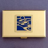River Metal Credit Card Holder & Cigarette Case
