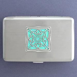 Celtic Irish Metal Case or Cigarette Wallet