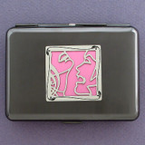 Vampire Kisses Metal Case or Cigarette Wallet