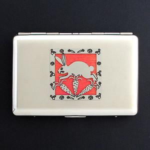 Rabbit Credit Card Wallet or Cigarette Case