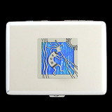 Kokopelli Credit Card Wallet Cigarette Case