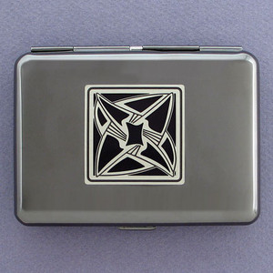 Vortex Metal Cigarette Case Wallets