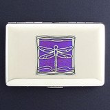 Dragonfly Metal Cigarette Case Wallet