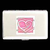 Heart Credit Card Wallet Cigarette Cases