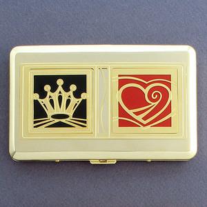 King of Hearts Credit Cards Holder Wallet
