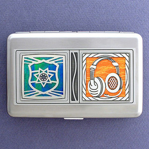 911 Dispatcher Credit Card Wallets or Cigarette Cases