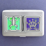 Frog Prince Credit Card Wallets or Cigarette Cases