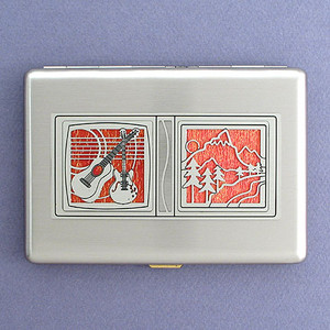 Bluegrass Band Wallets or Cigarette Cases