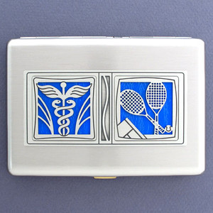 Sports Medicine Credit Card Wallets or Cigarette Cases