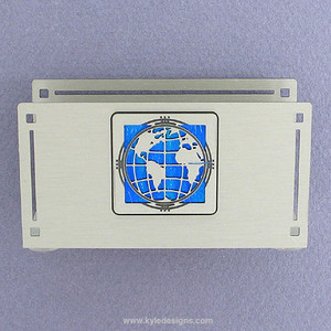 Global Citizen Business Card Holder for Desk