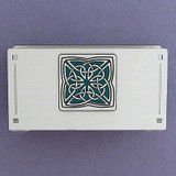 Celtic Business Card Holder Stand for the Desk