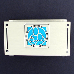 Family Business Card Holder Display Stand for Desk