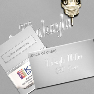 Business Card Holder Engraving Service - Extra Location