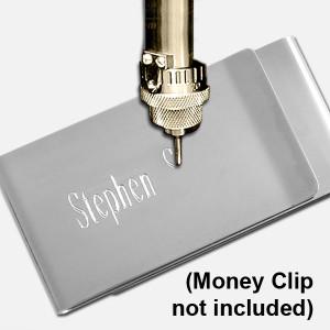 Money Clip Engraving Service - Extra Location