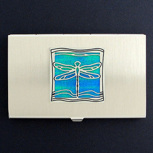 Dragonfly Business Card Cases