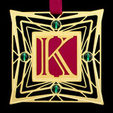 Greek Letter Kappa Ornaments