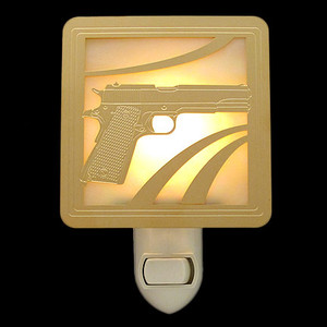 Handgun Night Light