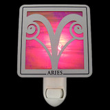 Aries Horoscope Sign Night Lights