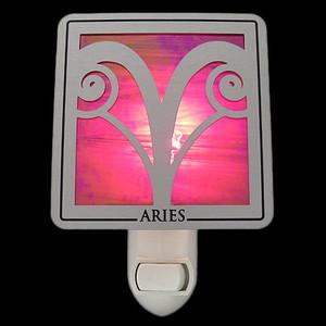 Aries Horoscope Sign Night Lights