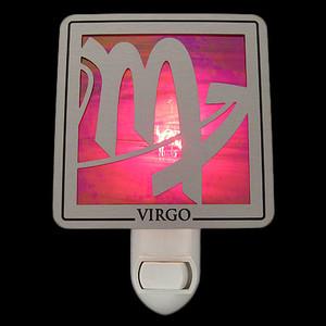 Virgo Horoscope Sign Night Light