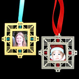 Keepsake Photo Frame Christmas Ornaments