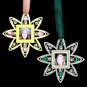 Picture Frame Keepsake Ornaments