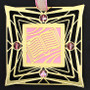 Bible Christmas Ornament - Pink & Gold