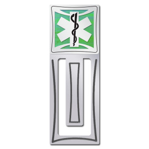 EMT Bookmark - Silver