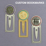 Round Top Metal Book Marks on Sale