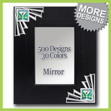 Decorative Framed Mirror - Vertical or Horizontal