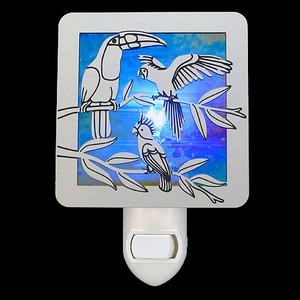 Tropical Birds Night Light