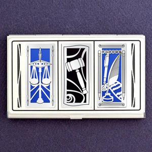 Judicial Business Card Holder