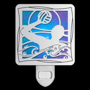 Stained Glass Water Polo Nightlight