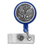 Helping Hands Retractable Name Badge Reel