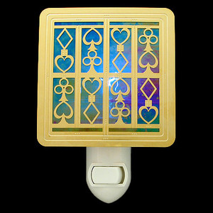 Bridge Card Player Nightlight