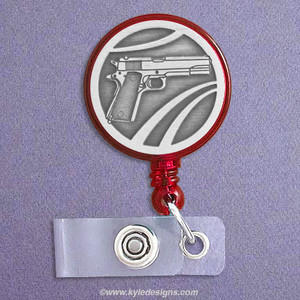 Gun ID Name Badge Holders